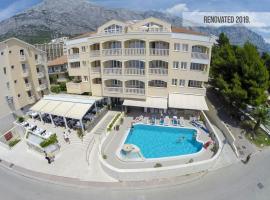Aparthotel Milenij, hotel in Baška Voda