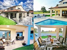SPECIAL OFFER! NEW LUXURY VILLA with pool, fitness, office, outdoor bar&grill