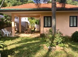 House 1 bedroom, jacuzzi, garden, terrace