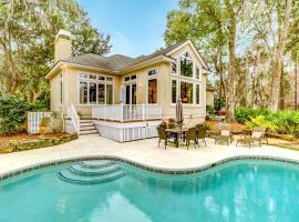 New Listing! Palmetto Dunes Getaway w/ Pool & Spa home
