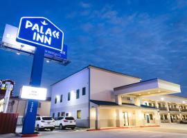 Palace Inn Blue Federal Road, motel in Houston