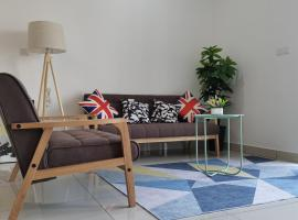 WS201 Woodsbury Suite Nordic Concept by Homez Suite, apartment in Butterworth