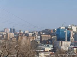 Очень тихая и уютная квартира в самом центре города Владивостока