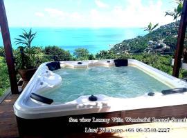 Sea view Luxury villa wonderful Jacuzzi Samui