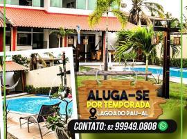 Casa de temporada, Lagoa do Pau Coruripe-AL