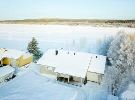 ☆ Northern Sky Panorama House with private beach ☆