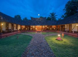 Heritage Garden Stay, Fishing in Pond, luxury hotel in Alleppey