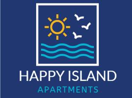 Spacious and bright apartement in heart of island