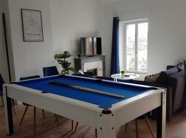 Appartement Mermoz - Belle vue - Billard
