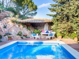 Calella de Palafrugell Villa Sleeps 6 with Pool and WiFi