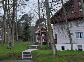 Kalno namai - apartamentas Juodkrantėje