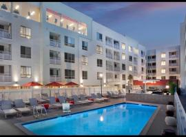 L.A. Lux China Town 30 Day Stays, hotel perto de Dodger Stadium, Los Angeles
