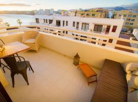Magallanes sea view terrace - El Medano, hotel in El Médano