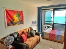 Apartamento com 2 quartos e vista para o mar