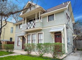Cozy Downtown 2BA/1BA Historic House - Casa Verde, apartment in San Antonio