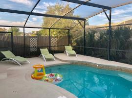 Deluxe Holiday 4BD Pool Home@ Disney & Universal