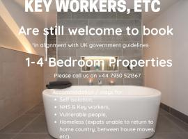 Dwellcome Home Sea Winnings 4 Bed Seaside Reduced Self Iso, NHS Key Worker