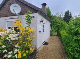 kleines Ferienhaus in Herford, freihstehend, eigener Eingang