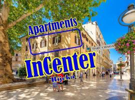 Apartments InCenter, budget hotel in Rijeka