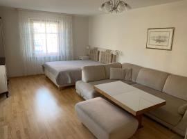 Baltas apartamentas