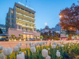 Best Western Hotel Bellevue au Lac, hotel in Lugano