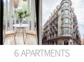 El Alma de las Ramblas, apartamento en Barcelona