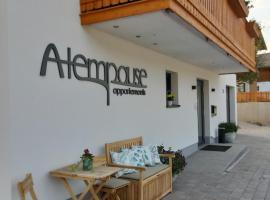 Die Atempause - appartements, Ferienwohnung in Flachau