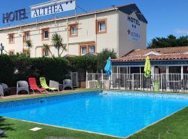 Hôtel Althea - Piscine et Sauna, hotel in Béziers