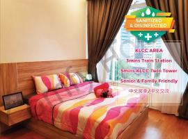 5 STAR & LUXURY Apartment near KLCC/ KL City Centre, holiday rental in Kuala Lumpur