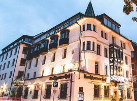 PLAZA Hotel Buchhorner Hof, hotel with jacuzzis in Friedrichshafen