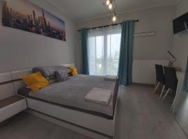 City view apartment, hotel a Varsavia