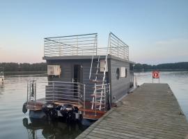 Dom na wodzie - Port Sztynort, apartment in Węgorzewo