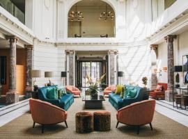 Hotel FRANQ, accessible hotel in Antwerp