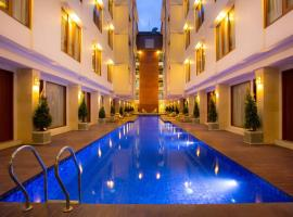 The Sun Hotel & Spa Legian, hotel with jacuzzis in Legian