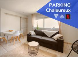 Cosy apartment + secured PARKING, apartment in Cannes