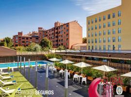 Sercotel Alcalá 611, hotel cerca de Wanda Metropolitano, Madrid
