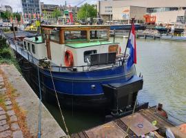 Houseboat holiday apartments Rotterdam, hotel near Markthal Rotterdam, Rotterdam