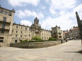 Hospedería San Martín Pinario, hotel in Santiago de Compostela