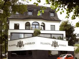 Villahotel Rheinblick, hotel near Phantasialand, Cologne