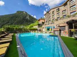 Hotel Spa Princesa Parc, отель в городе Аринсаль