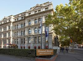 Grand Hotel Melbourne, hotel with jacuzzis in Melbourne