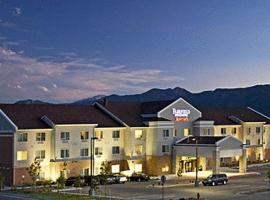 Fairfield Inn and Suites by Marriott Colorado Springs North Air Force Academy, hotel with jacuzzis in Colorado Springs
