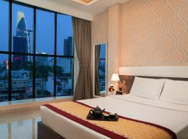 Hong Vina Hotel, khách sạn gần Chợ Bến Thành, TP. Hồ Chí Minh