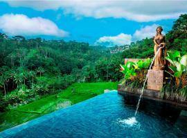 Black Penny Villas Ubud, hotel with pools in Ubud