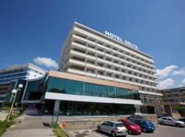 Hotel Plutitor Egreta Mila 23, hotel din Crişan
