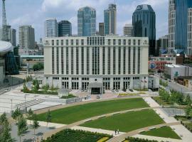 Hilton Nashville Downtown, hotel in Nashville