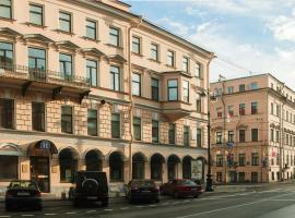 Comfort Hotel, hotel near Admiralty Building, Saint Petersburg