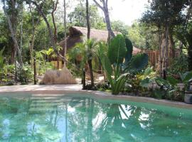 Casa Selva Orquideas, hotel que admite mascotas en Tulum
