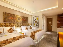 JOCS Boutique Hotel, hotel with jacuzzis in Legian