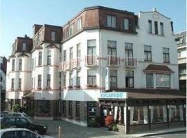 Hotel Escapade, budget hotel in De Haan